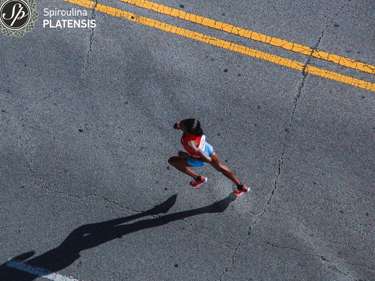 Γυναίκα που τρέχει Μαραθώνιο