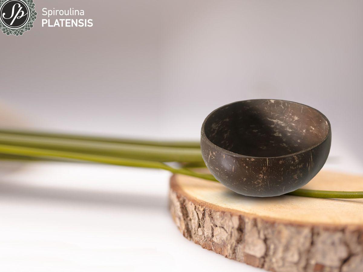 Coconut Vegan Bowl πάνω σε ένα ξύλο