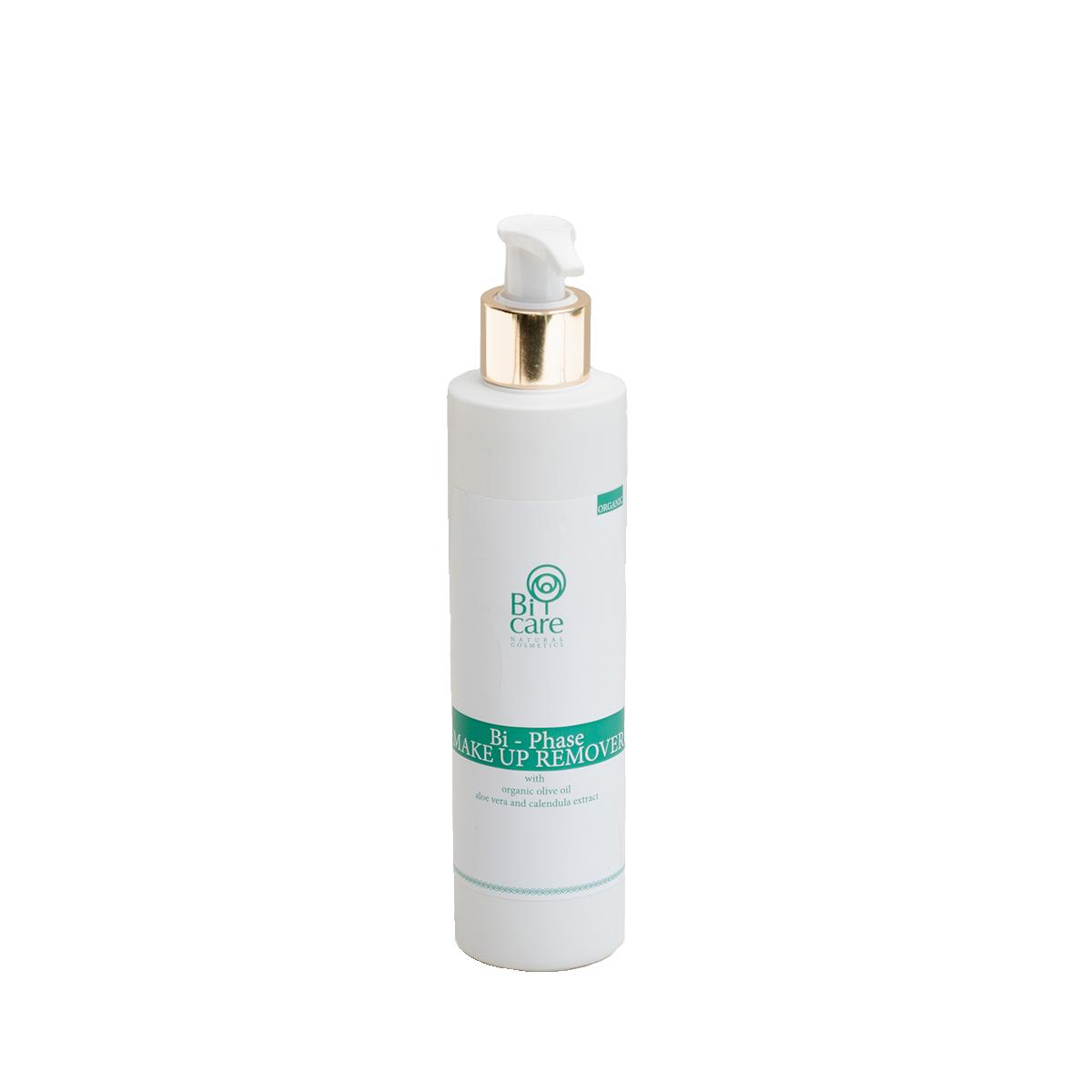 Διφασικό make up remover | Με αλόη βέρα & εκχύλισμα καλέντουλας 200ml | BiCare