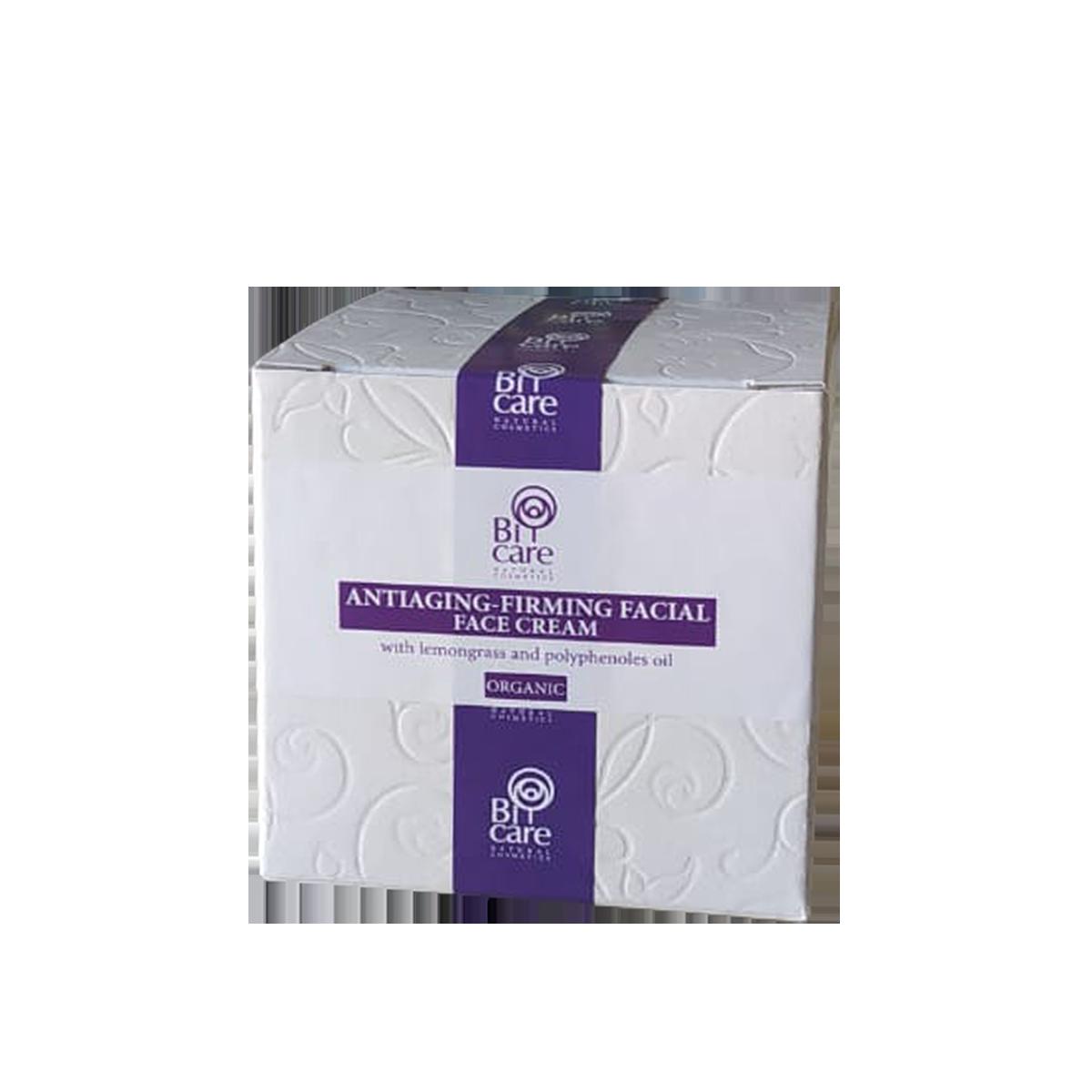 Αντιγηραντική κρέμα προσώπου | Με Μελισσόχορτο 50ml | BiCare